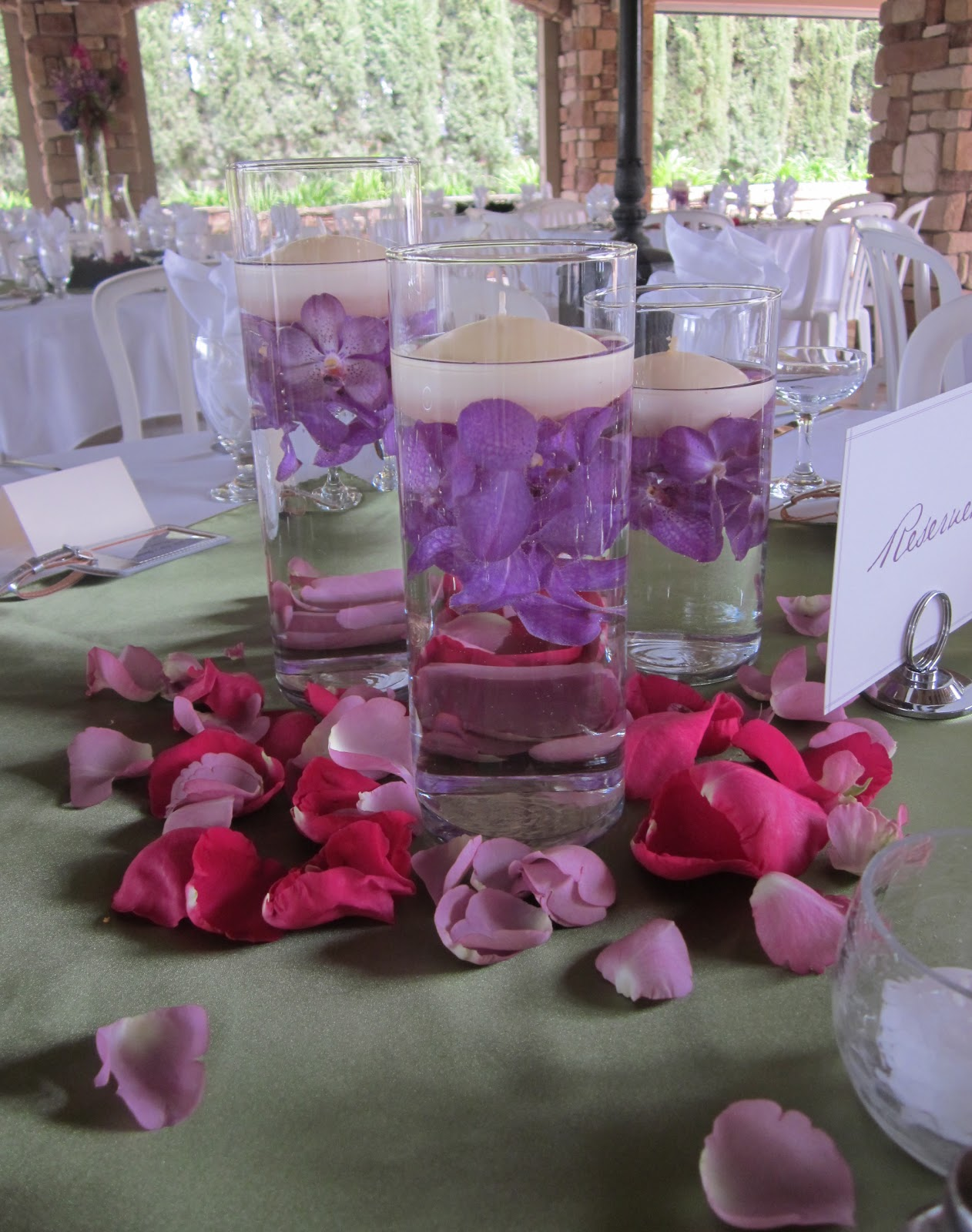 Sharia's blog: Purple Centerpieces Mostly  Sharia's bl...