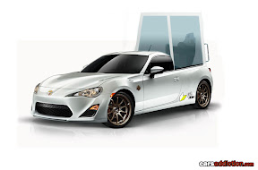 Rendered Toyota GT86 Popemobile by CarsAddiction.com