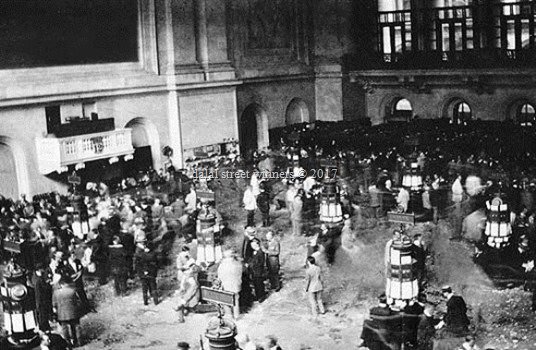 History of the American stock market