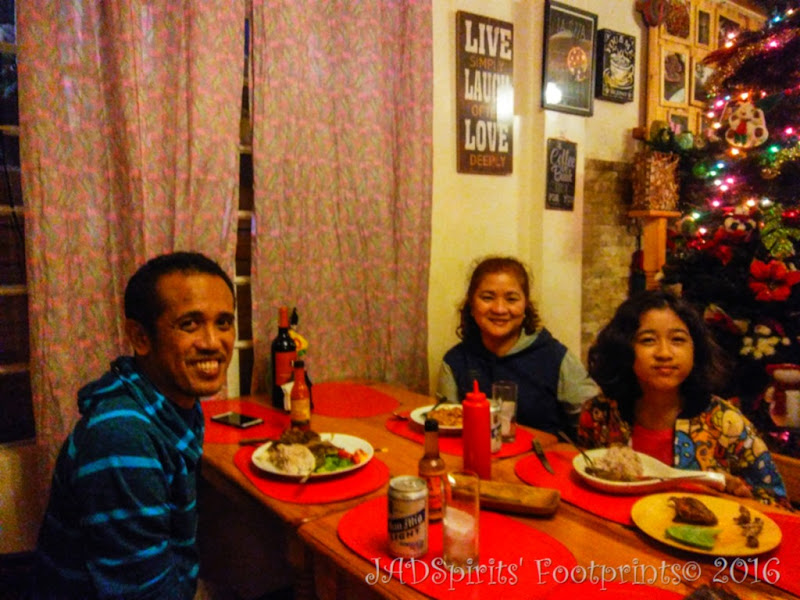 Dinner at Misty Lodge in Sagada