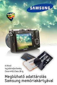 Samsung reklám plakát tervezés.