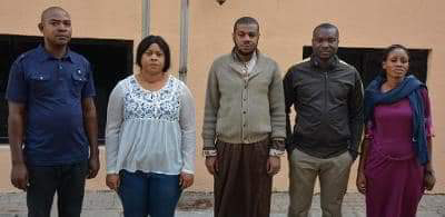 EFCC Arrest Five for Alleged N1.8m Visa Fraud in Abuja