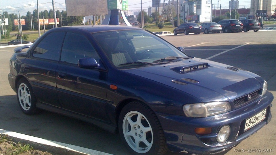 1998 subaru impreza rs specifications pictures prices. Black Bedroom Furniture Sets. Home Design Ideas