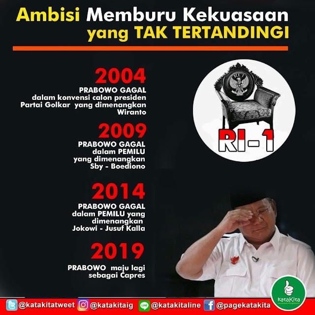 Prabowo Tuntut Ditetapkan Jadi Presiden RI, TKN: Cari Sensasi