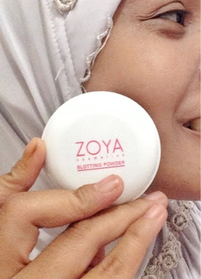 blotting powder zoya cosmetics