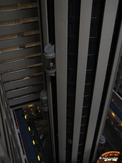 Marriot Marquis Times Square Lifts