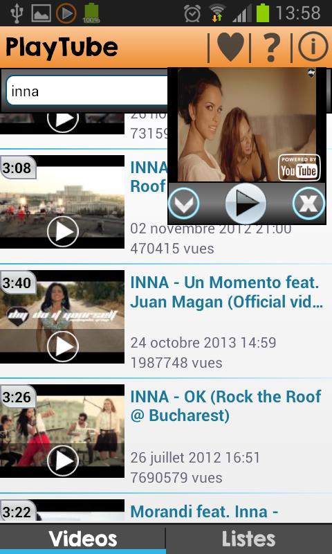 PlayTube for YouTube free- screenshot
