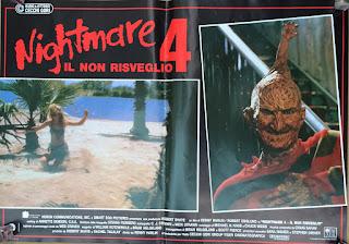 Italian Lobby card Nightmare 4 5 of 6  26x19 #1