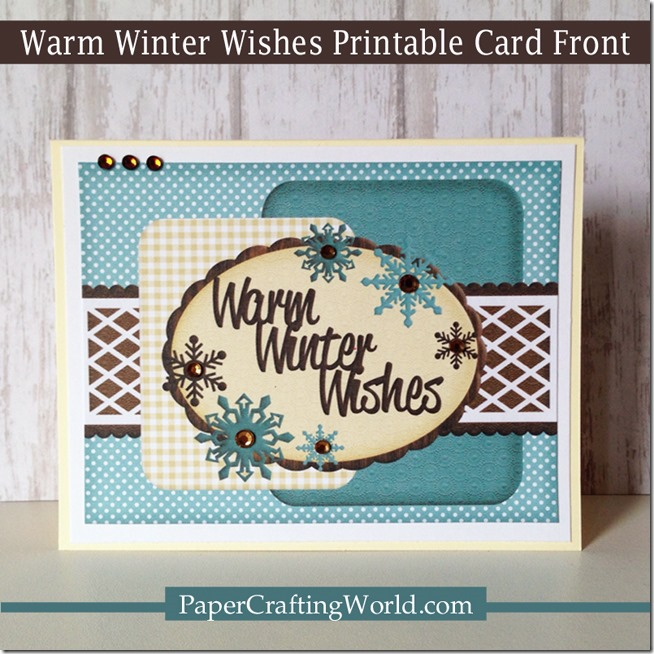 warm winter wishes printable card 650