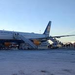 Icelandair in Reykjavik, , Iceland