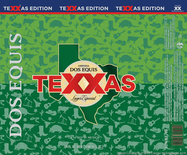Dos Equis Adding TeXXas Edition 24oz Cans