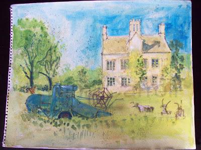 710 Cogges manor Farm, Witney, Oxon