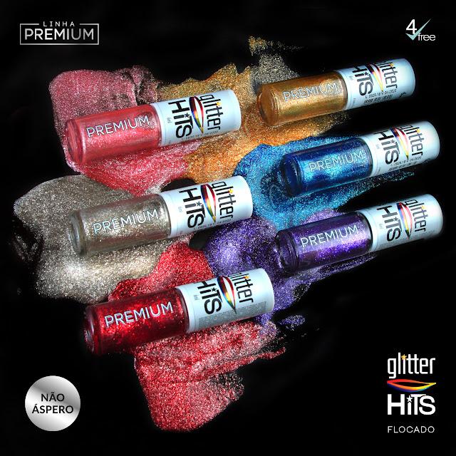 Coleção Glitter Hits Flocado