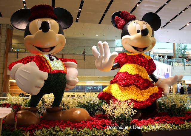 Gigantic Spanish  Mickey and Minnie at Terminal 2