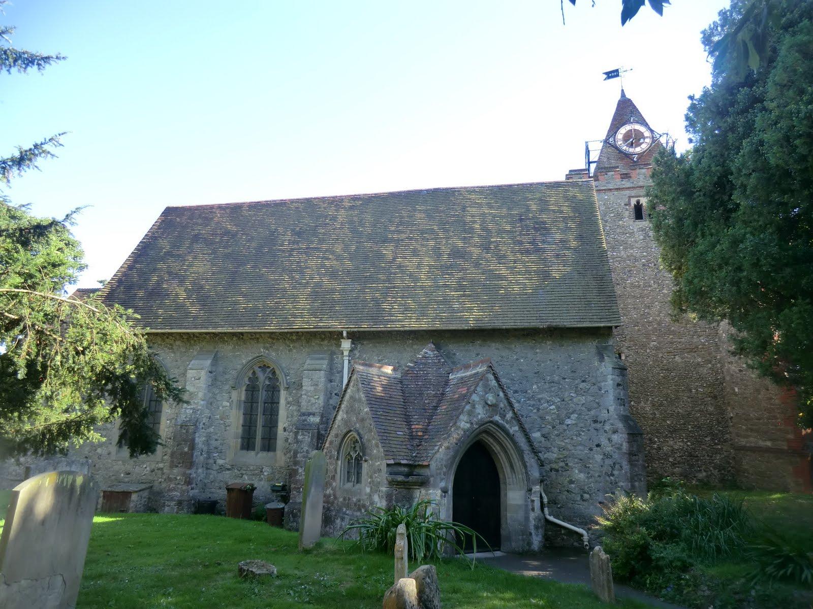 CIMG3939 St John the Baptist church, Halling