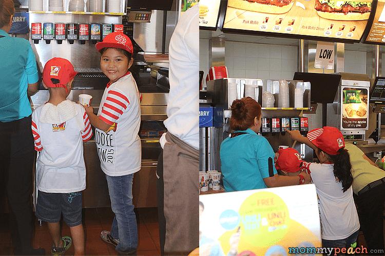 Ykaie Loves Being A McDonald's Kiddie Crew 2015