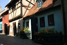 Cottages along the Golden Lane, Prague Castle
