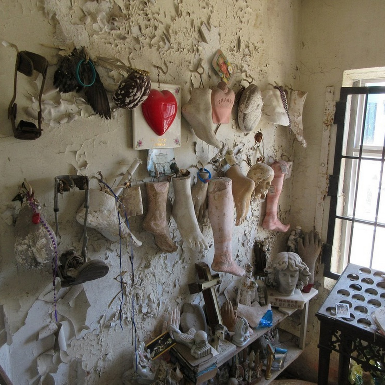 The Chapel of Prosthetics, New Orleans's St Roch Cemetery