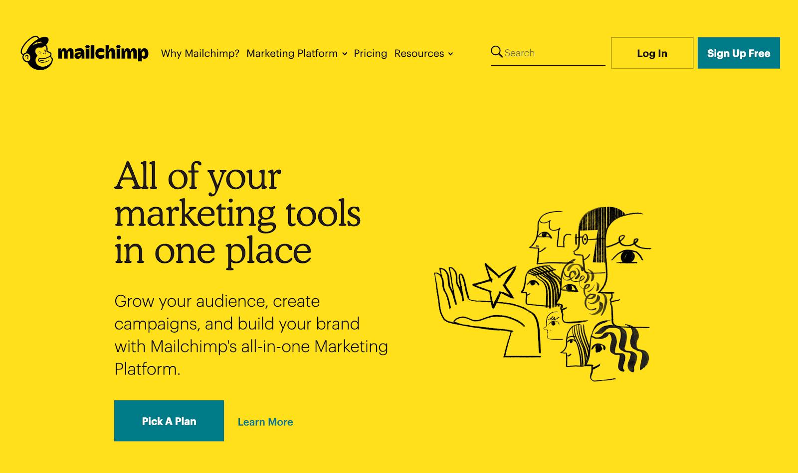 Email Marketing Service Provider - Mailchimp