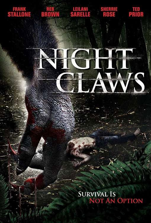 Poster Of English Movie Night Claws (2013) Free Download Full New Hollywood Movie Watch Online At Alldownloads4u.Com
