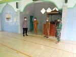 Kapolsek Bersama Forkopincam Menjalin Koordinasi Kepada Pengurus Masjid Dalam Rangka Menyambut Idul Adha Dengan Menerapkan Prokes