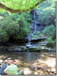 Tom Branch Falls at Deep Creek GSM