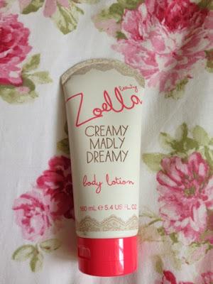 Zoella body lotion