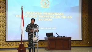 Seskoad Buka Pendidikan Perwira Staf Perencanaan Strategis ke-XX TA 2020