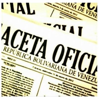 Gaceta Oficial de la República Bolivariana de Venezuela N° 42.119 de fecha 4 de mayo de 2021