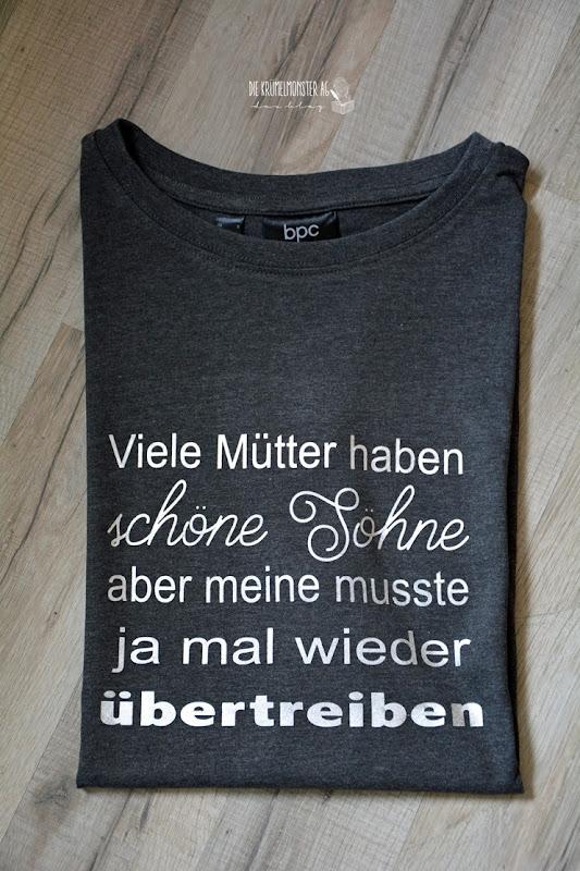 T-Shirt Christopher (04) Viele Mütter haben schöne Söhne