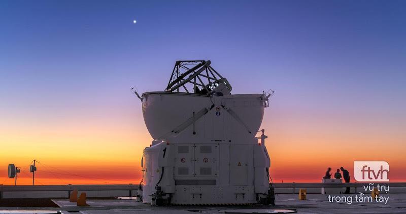 Ảnh đẹp thiên văn trong tuần từ 08/03 đến 11/03/2018