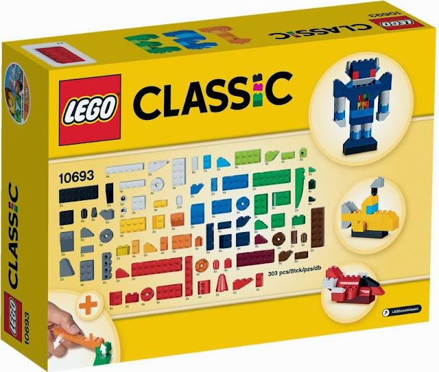 Lego 10692 Thùng gạch sáng tạo Creative Bricks được làm từ chất liệu nhựa an toàn