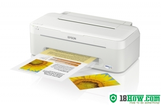 How to Reset Epson ME-32 lazer printer – Reset flashing lights error