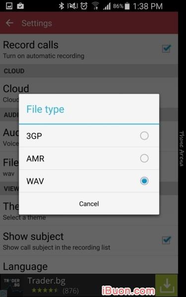 Ảnh mô phỏngTải Automatic Call Recorder - Ghi âm cuộc gọi cho Android - Ghi-am-cuoc-goi-tren-Android-4