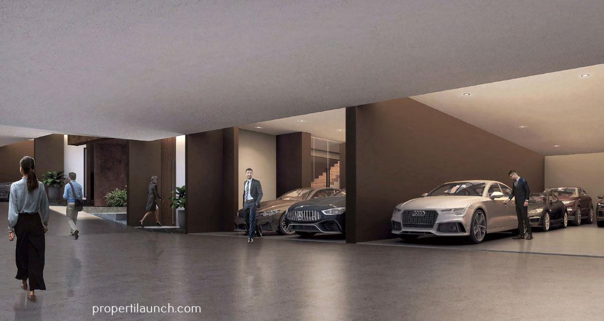 Capital Cove Business Loft BSD - Private Parking