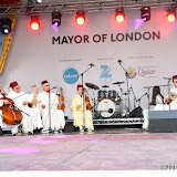 OIC - ENTSIMAGES.COM - Andaloussi Musique Band  at the  Eid Festival  in London 25th July 2015 Photo Mobis Photos/OIC 0203 174 1069