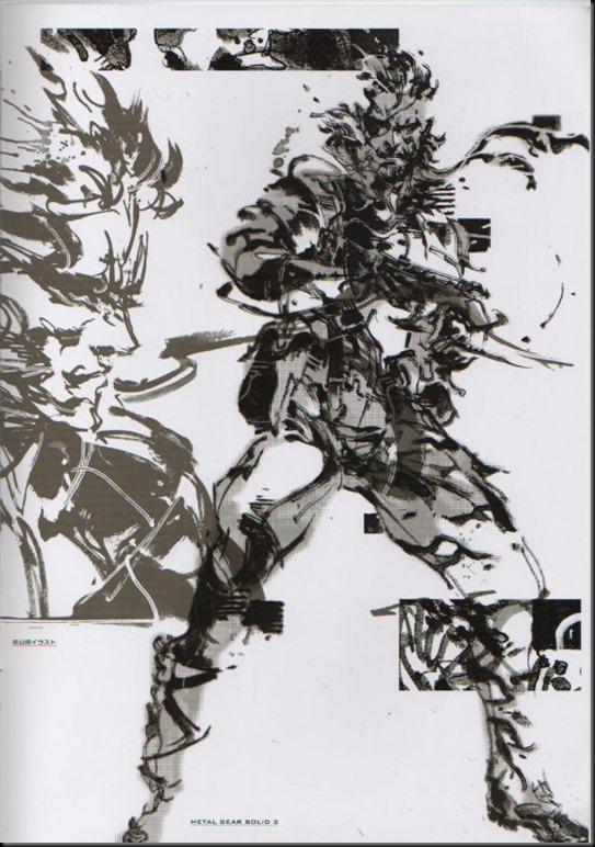 The Art of Yoji Shinkawa 1 - Metal Gear Solid, Metal Gear Solid 3, Metal Gear Solid 4, Peace Walker_802479-0021