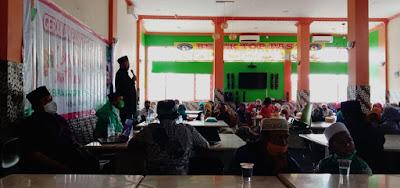 Perempuan Bangsa Dewan Pimpinan Cabang (DPC) PKB Kota Bekasi menggelar sarasehan pendidikan