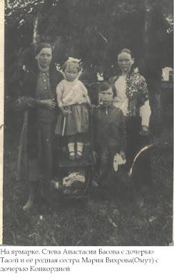 (Из семейного архива Таисии Косяковой (Басовой))