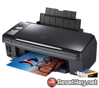 Resetting Epson DX7450 printer Waste Ink Pads Counter