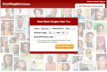BlackPeopleMeet dating website