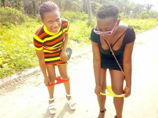 See What This Ladies Did To There Pants That Got People Talking