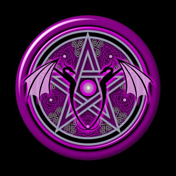 Purple Dragon, Celtic And Druids