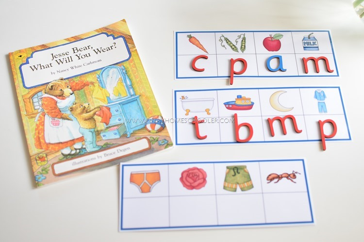 Beginning Letter Sound Activity with Letter B