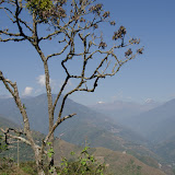 Coroico : vue vers le Sud et les Andes, 16 octobre 2012. Photo : C. Basset