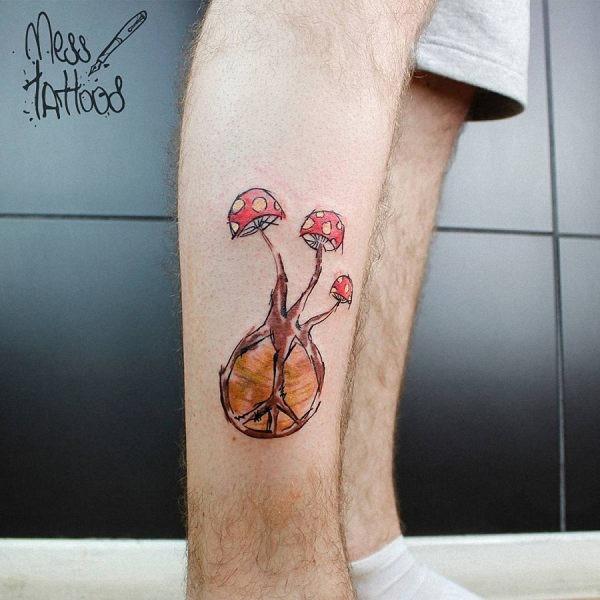esta_brilhante_cogumelo_tatuagem