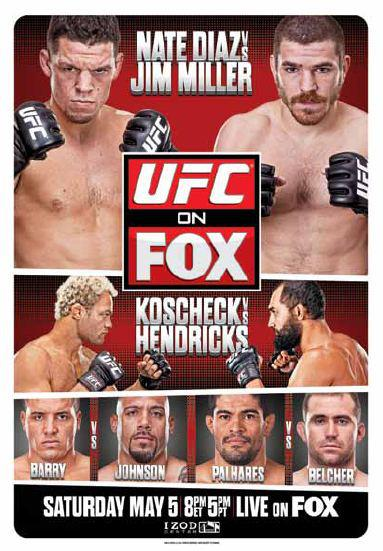 UFC on FX 3: Diaz Vs Miller HDTV