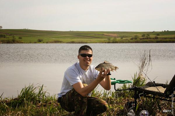 фото перша рибка!