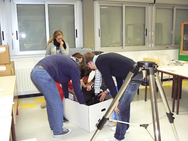 Montaggio Telescopio Meade LX200R