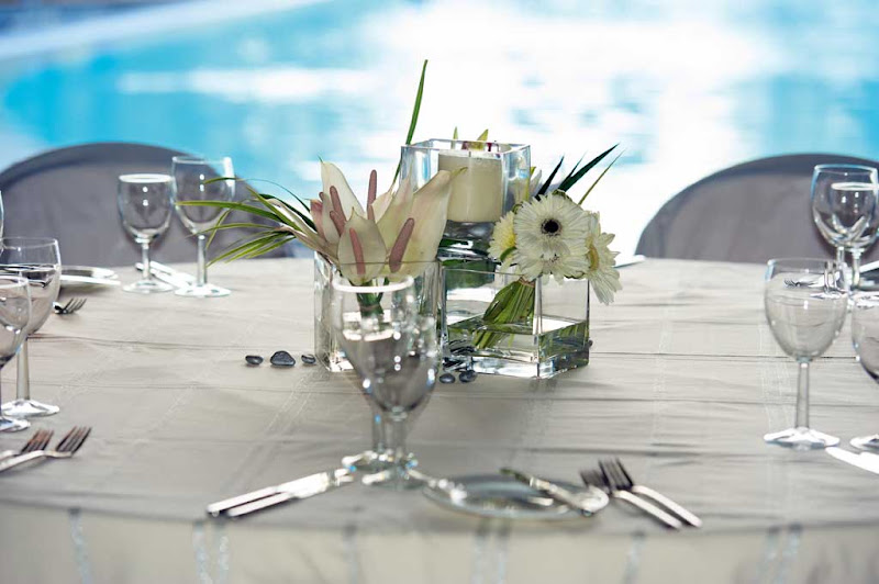 Sample table decorations